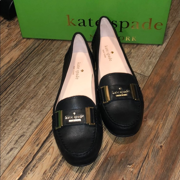 87d5d57e724a Kate Spade Colette Leather Logo Loafers